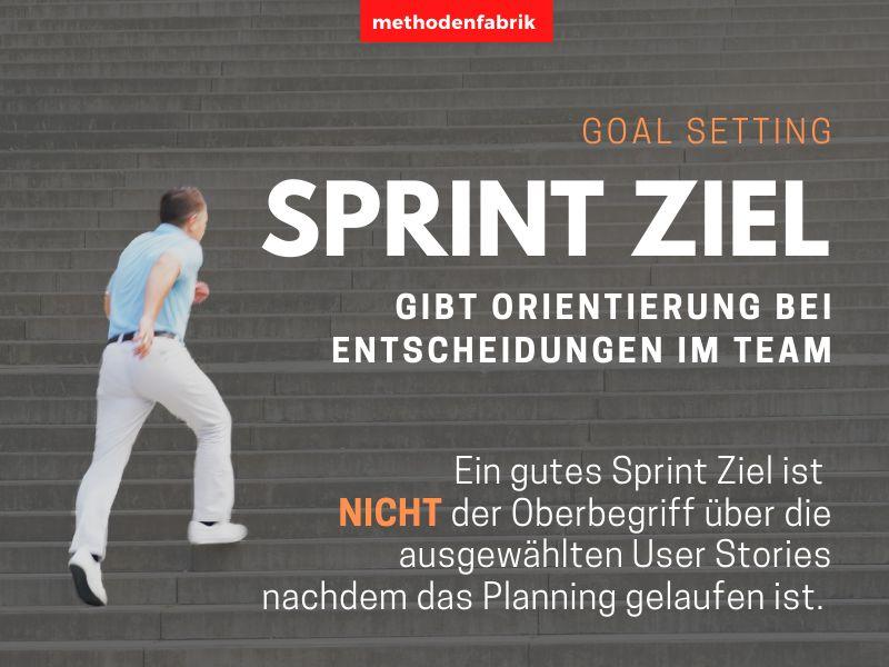 Ein Sprint gibt Orientierung für Entscheidungen im Team